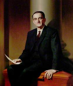 Alderman Sir Frank Small, CBE, DL, JP, Chairman of the County Council (1963–1967)
