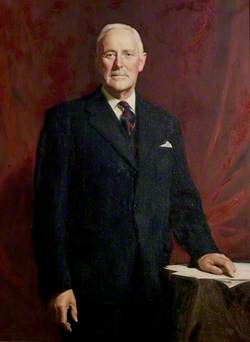 Alderman Colonel Sydney Farr, MC, DL, JP, Chairman of the County Council (1962–1963)