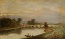 Trent Bridge, Nottingham, with Ferry