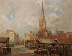Newark Market Place, Nottinghamshire