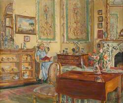 Nurse in the Tapestry Room