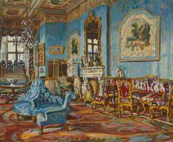 Interior – The Blue Drawing Room