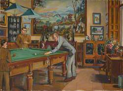 Billiard Room, Thoresby Hall