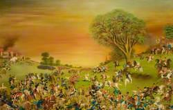 The Battle of Waterloo, 18 June 1815