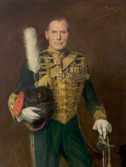Colonel the Lord Barnby of Blyth, CMG, CBE, MVO, TD, Commanding Officer, the Sherwood Rangers Yeomanry (1920–1928), Honourary Colonel (1948–1954)