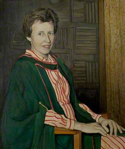 Dr Virginia van der Lande, Founder and Warden of Ancaster Hall (1966–1986)