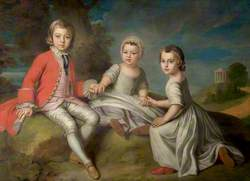 The Children of the 2nd Duke of Newcastle-under-Lyne, Henry (1750–1778), Thomas (1752–1795) and John (1755–1781)