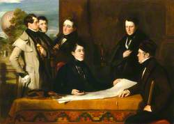 A Consultation prior to the Aerial Voyage to Weilburgh, 1836