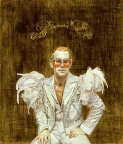 Elton John ('On the throne')