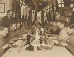 Captain Scott's Birthday Dinner, 6 June 1911
