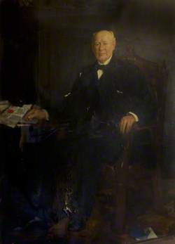 Ex-Provost Milloy, Provost of Rothesay (1893–1896)