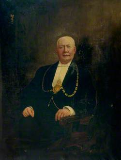 Portrait of an Unknown Provost of Rothesay