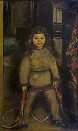 Child with a Skipping Rope