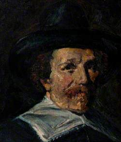 Portrait of a Seventeenth-Century Man in a Hat