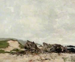 Sunlit Coastal Scene