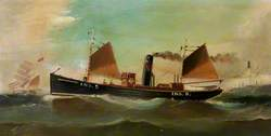 Study of Fishing Boat 'Cluny Hill'