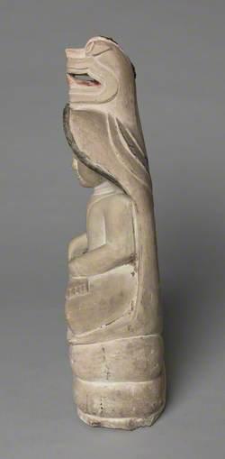 Seated Buddha with Cobra over Head