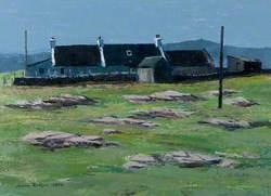 A Shetland Croft, Unst