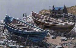 Two Shetland Fourerns