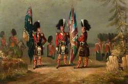 79th Highlanders in 1841 at Gibraltar