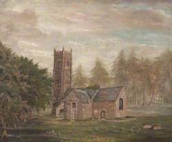 View of Old Arlington Church (St James), Devon