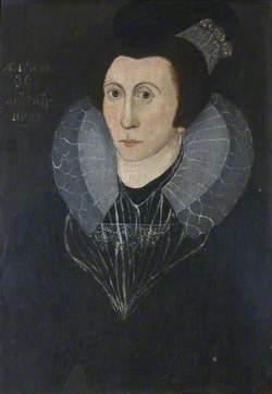 Portrait of an Unknown Elizabethan Lady, Aged 36