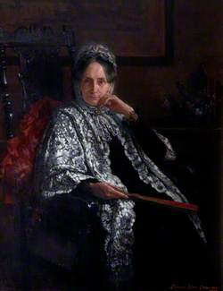 Mrs George Drew, née Mary Peek (1821–1896)