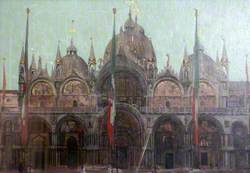 The Façade of San Marco, Venice