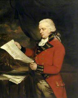 James Legge Willis (1761–1817), Holding a Map of Bambouk