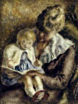 Margaret Ann Bjornson, Lady Elton (1915–1995), and Her Daughter Julia Elton (b.1949)
