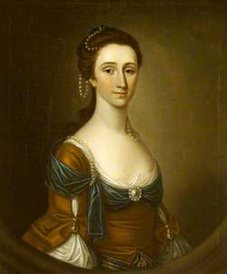 Elizabeth Clark, Mrs Le Pepre, Mrs William Blathwayt III (?)