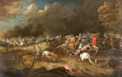 A Cavalry Battle