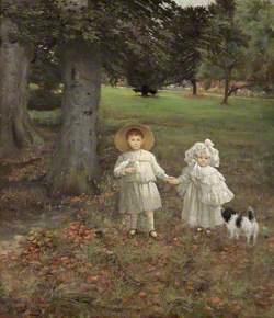 Simon Yorke IV (1903–1966), and Philip Yorke III (1905–1978), as Children
