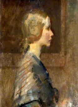 A Girl in Profile