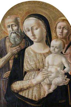 Madonna and Child with Saint Jerome and Saint Sebastian