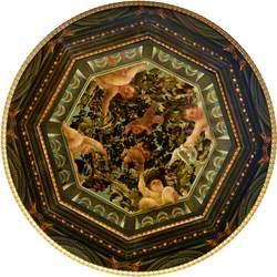Illusionistic Trelliswork Cupola with Disporting Putti