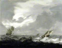 Shipping in a Rough Sea