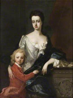 Lady Mary Robartes (d.1741), with Her Son Henry Robartes (c.1695–1741), Later 3rd Earl of Radnor