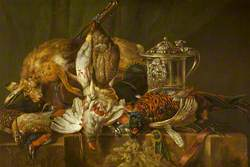 Still Life with Dead Game and a Silver Tankard