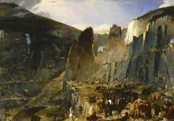 The Penrhyn Slate Quarry