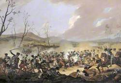 The Final Charge of the British Cavalry at the Battle of Orthez, 27 February 1814