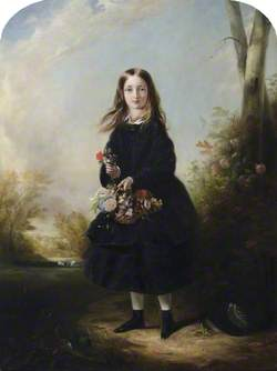 Lady Florence Paget (1842–1881), Later Marchioness of Hastings, 'The Pocket Venus', as a Girl
