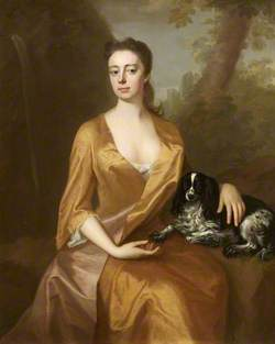 Reputedly a Daughter of William, 1st Earl of Dartmouth: Barbara, Lady Bagot (d.1765) or Anne, Lady Holte (d.1740)