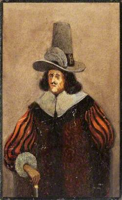 A Man in a Tall  Hat