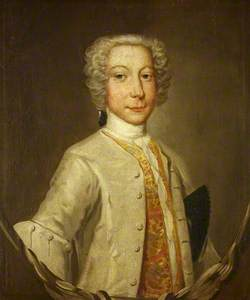 Portrait of an Unknown Young Man in a Silver-White Coat