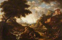 Landscape with a Torrent