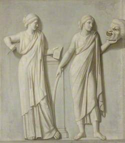 The Muses: Clio and Thalia