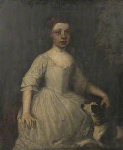 Grace Searle, Later Mrs William Benthall, as a Young Girl