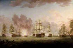 The Moonlight Battle of St Vincent, 26 January 1780