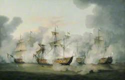 The Battle of Martinique, 17 April 1780